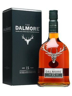 Dalmore 15 Year Old Single Malt Scotch Whisky 700ml