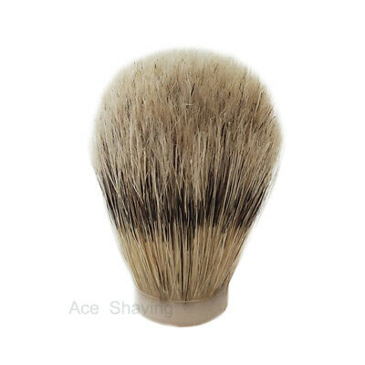 3 Pieces of Boar Bristle Hair Shaving Brush Knot Brush Head Knot Size 19mm