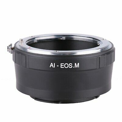Adapter Ring For Nikon F AI AIS Mount lens to Canon EOS M M2 M3 Camera Body