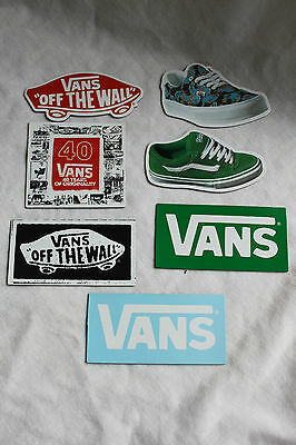 Vans 'off The Wall' Official Fridge Magnets - 7 In Total