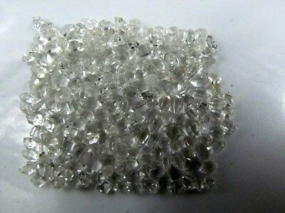 Lot of 60pcs 3-4mm Natural Herkimer Diamond Quartz Crystal Healing