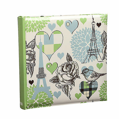 Arpan 6x4 Vintage Travel Rose Slip In Case Photo Album For 200 Photos- AL-9151