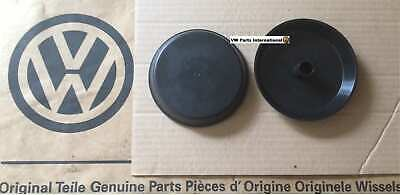 VW Golf MK3 GTI TDI VR6 Turret Caps Strut Top Mount Cover x2 Genuine VW OEM NOS