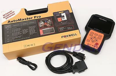 Foxwell Pro NT644 ALL System Diagnostic Scanner Scan Tool Light Reset EPB Colour