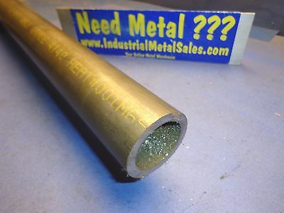 "2"" OD x 12""-Long x 1/4"" Wall 4140 Steel Round Tube- 4140  2"" OD  4140 FREE SHIP!"