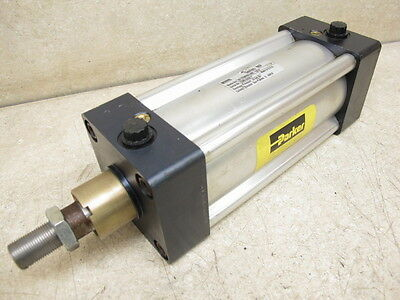 Parker, Pneumatic Cylinder, 80 Mm Bore X 130 Mm Stroke, Series Mp