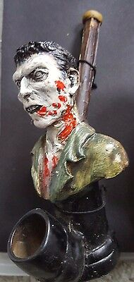 Artisan Walking Dead Zombie Handcrafted Pipe