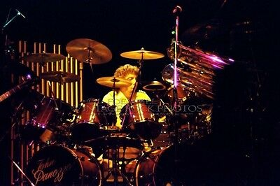 John Panozzo Styx Photo 8x12 or 8x10 in 1981 Live Concert from 35mm Negative L16