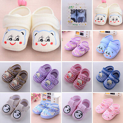 Newborn Baby Infant Toddler Baby Boy Girl Kid Soft Sole Shoes  Anti-slip Sneaker
