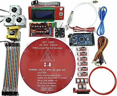 Kossel Mini Electronic Full Kit for Rostock Delta 3D Printer Bowden MK8 Extruder
