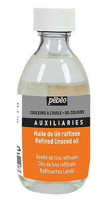 Pebeo Artists' Painting Medium Refined Linseed Oil 245ml Bottle