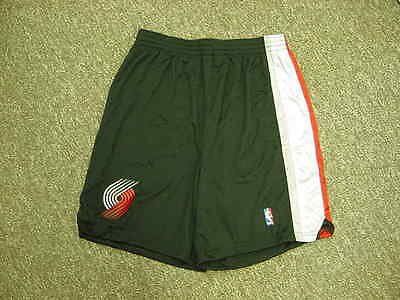 5ac0252e677 NBA Portland TrailBlazers  23 Darius Miles Game Worn Used Shorts Reebok  Size 50