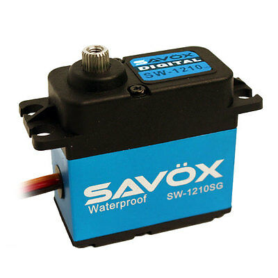 Savox SW-1210SG Waterproof Coreless Steel Gear Digital Servo