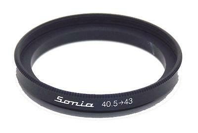Metal Step up ring 40.5mm to 43mm 40.5-43 Sonia New Adapter