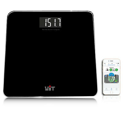 WiTscale S200 Bluetooth Smart Body Scale for iPhone6S (HealthKit), Galaxy S6