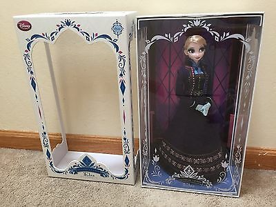 """NEW Disney Limited Edition 5000 Frozen Regal Elsa 17"""" Doll with TIARA CROWN 2015"""