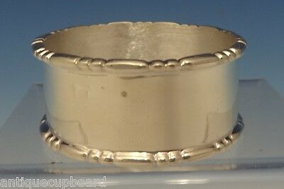 "Marquise By Tiffany & Co. Sterling Silver Napkin Ring 1 3/4"" Diameter (#0516)"