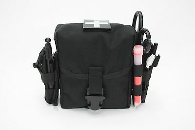 AAT Black IFAK GP Pouch Enhanced GI Issue Size MOLLE Medic EMT Spec USA Made