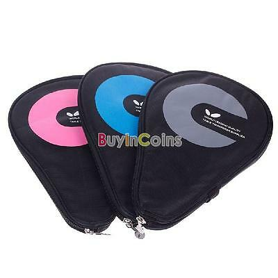 The Waterproof Table Tennis Racket Case Bag For 2 Ping Pong Paddle Bat #02 YUUS