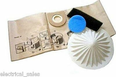 FITS DUST BAGS /& FILTER SET FOR VAX 2000 4000 5000 6000 SERIES