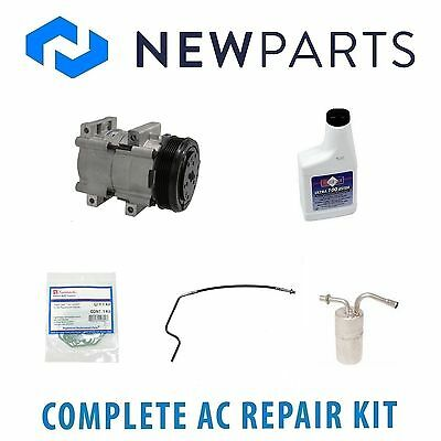 For Lincoln Town Car 91-92 Complete AC A//C Repair Kit w// NEW Compressor /& Clutch