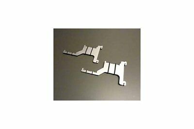 Train Safe TBAD-H0 1 Pair Double ragdoll ironing arm Aluminium Gauge H0 NEW
