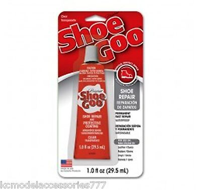 Shoe Goo Clear 29.5Ml Genuine Glue-Trainers & All Shoe Repairs With Nozzel