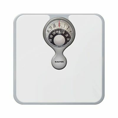 Salter Heavy Duty Bathroom Scales with Magnifying Lens 484