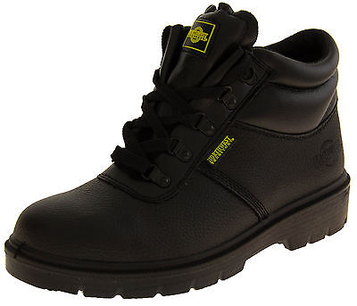 Mens Leather NORTHWEST TERRITORY Rugged Tough Durable Safety Work Boost Shoes