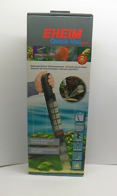 EHEIM QUICK VAC PRO. 3531 Battery Powered Vacuum Gravel Cleaner for Aquariums
