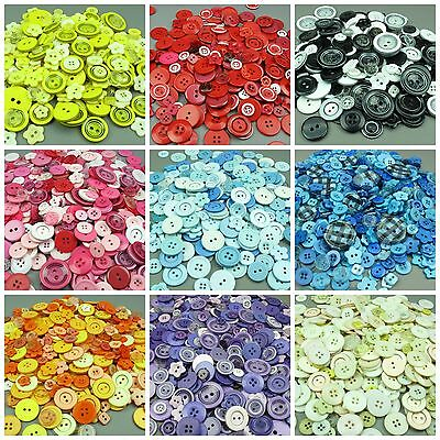 Assorted Mixed Buttons Arts Crafts Card Making Scrapbooking Sewing Huge Range