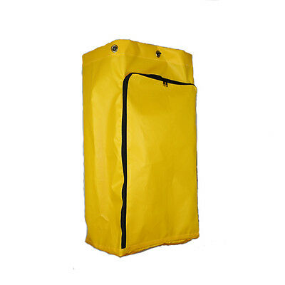 "American Supply Janitorial Cart Bag 32"" Vinyl with Front Opening Zipper"