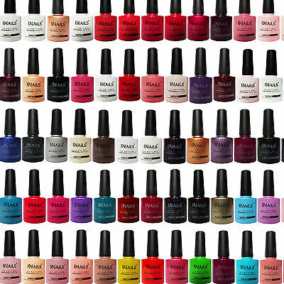 Miss Nails® SALON RANGE COLOUR TOP and BASE COAT UV LED Nail Gel Polish Soak Off