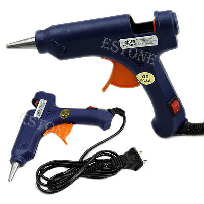 High Quality Professional Mini Electric Heating Hot Melt Glue Gun 20W New