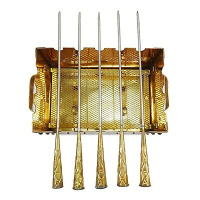 Traditional Indian Copper Tandoor Barbecue Food Warmer Kitchen Accessorie