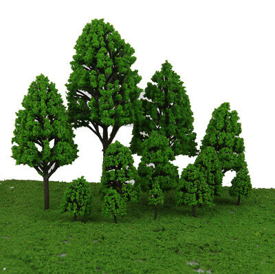 12 Model Trees 1:50-500 2.5-16cm Garden Park Forest Diorama Train Scenery