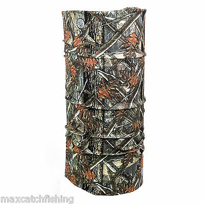 Outdoor Active Seamless Wicking Scarf Multi-functional Headwear -- Fish Camo