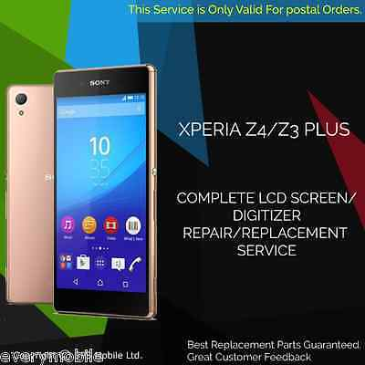 Sony Xperia Z3 Plus / Z4  Screen Lcd Touch Repair Service Replacement Service