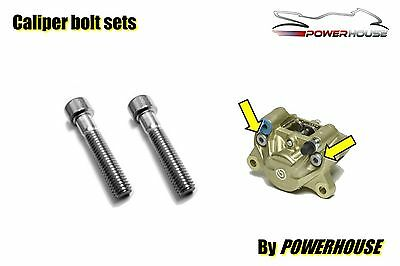 Brembo P32G rear brake caliper joint bolts stainless steel