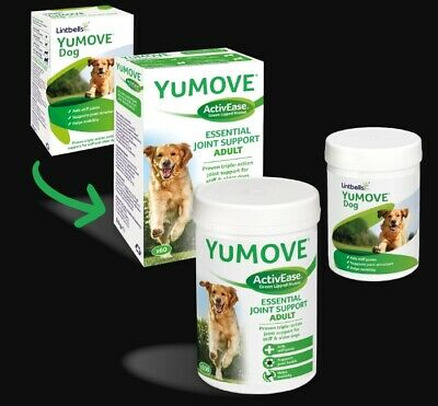 Yumove Dog Joint Support Tablets x 120, Premium Service, Fast dispatch