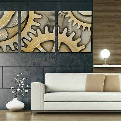 XL LED BACKLIT Modern Abstract Metal Wall Art Contemporary
