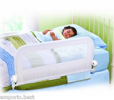 Toddler Bed Rail Child Safety Bed Guard Summer Infant Protection Folding Rail