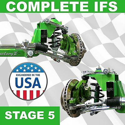 Stage 5 * 1964-1970 Ford Mustang II IFS Kit Super Deluxe Pro-Touring 64 65 Pro