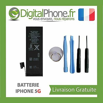 BATTERIE INTERNE IPHONE 5 OUTILS 1440 mAh TVA