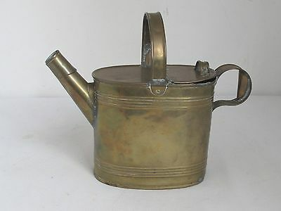 Antique Brass Watering Can from England