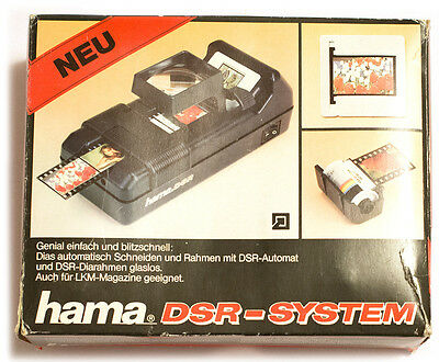 Hama DSR German 35mm Slide Film Cutting and Mounting System