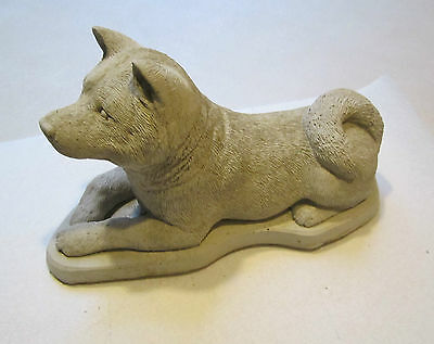 Concrete Akita Dog Statue Or Use As A Monument