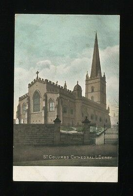 Ireland LONDONDERRY St Columbs Cathedral Used 1905 PPC