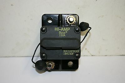 Bussman Circuit Breaker--150 Amp--Water-Proof (#184150F)