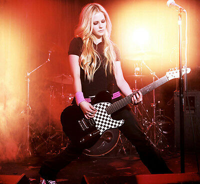 "Avril Lavigne Punk Rock Singer Music Star Poster 17x13/"" A005"